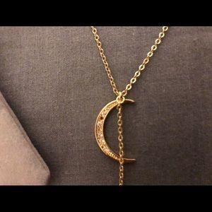Lili Claspe Crescent Moon Necklace